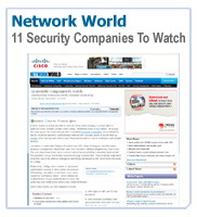 Network World: 11 Security Companies to Watch